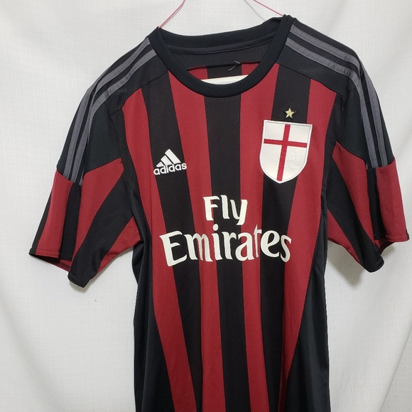 Fly Emirates Adidas ClimaCool Soccer Jersey